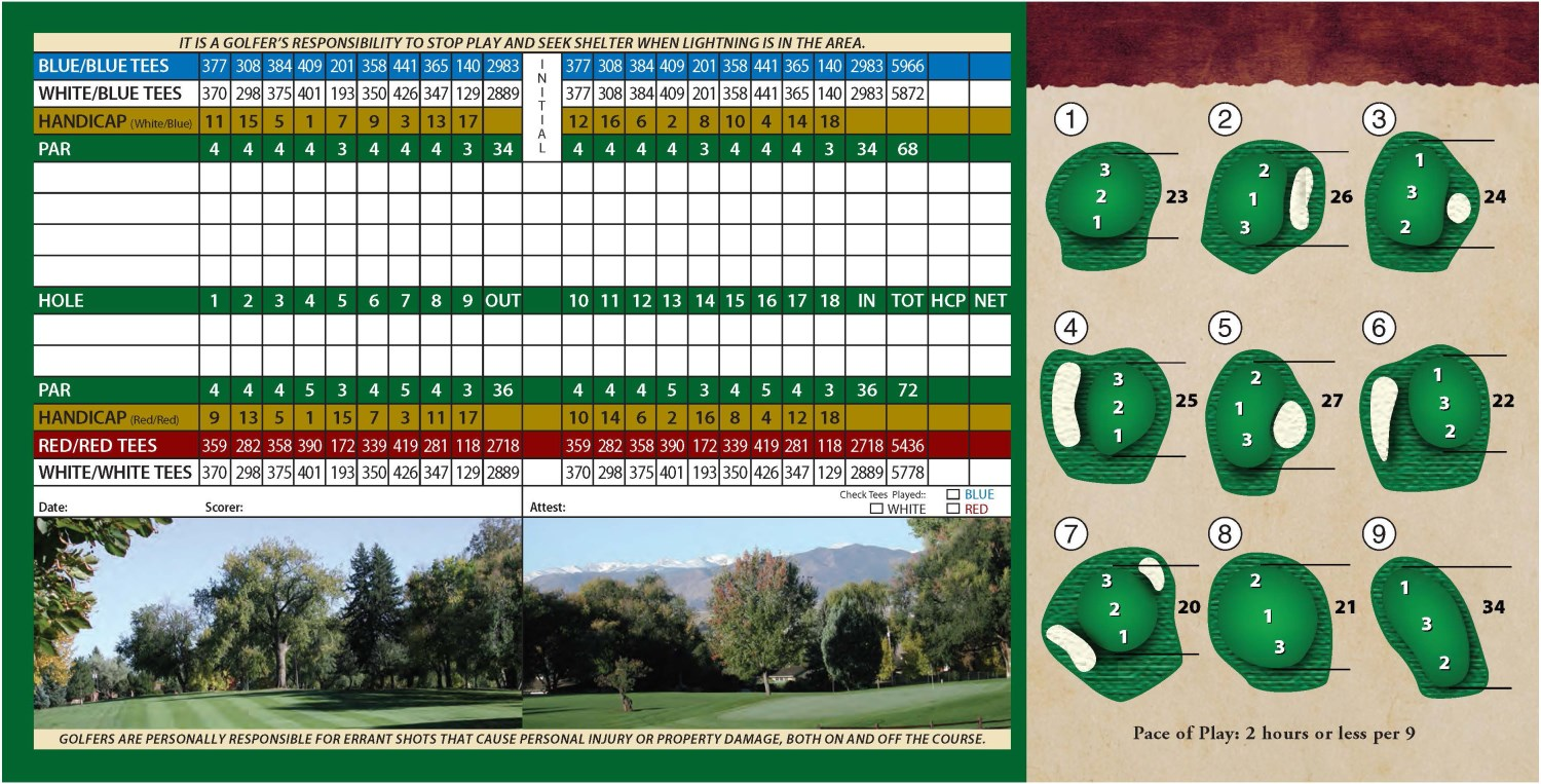 ScoreCards Sunset LR Page 2