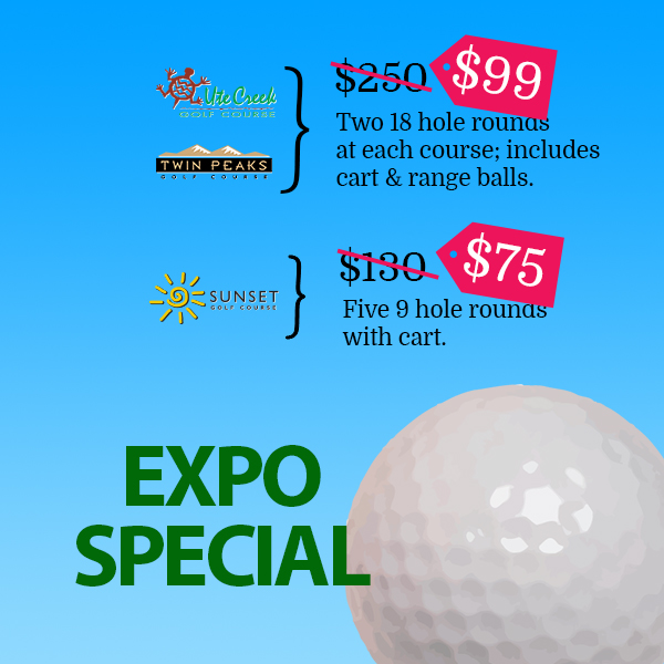 expo special longmont golf discount